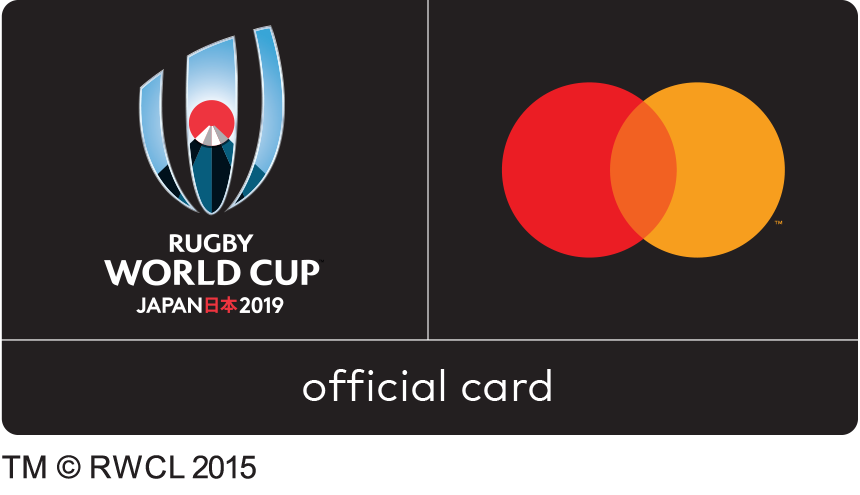 Rugby WorldCup official card